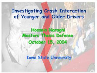 Investigating Crash Interaction of Younger and Older Drivers