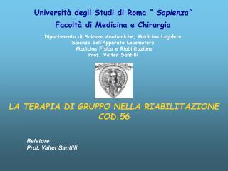 Universit  degli Studi di Roma   Sapienza