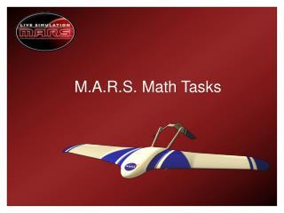 M.A.R.S. Math Tasks