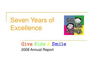 Seven Years of Excellence