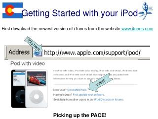 Getting Started with your iPod