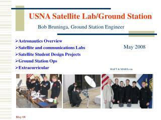 USNA Satellite Lab