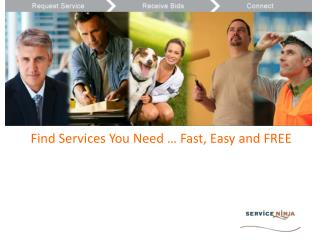 Find Services You Need ??? Fast