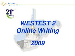 WESTEST 2 Online Writing  2009
