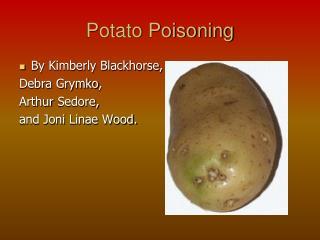 Potato Poisoning