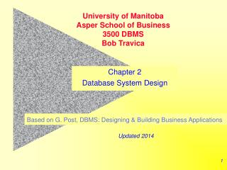 DBS Development