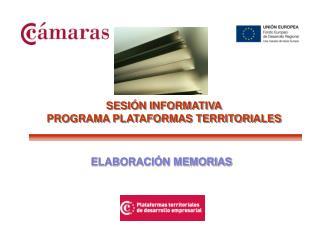 ELABORACI N MEMORIAS