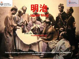 Curso de Experto en Estudios Asi ticos: Historia-Cultura, Econom a, Pol tica y Relaciones Internacionales