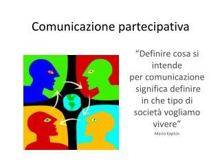 Comunicazione partecipativa