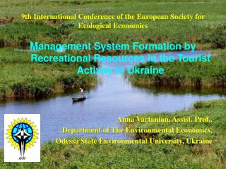 9th International Conference of the European Society for Ecological Economics