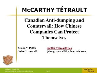 McCARTHY T TRAULT