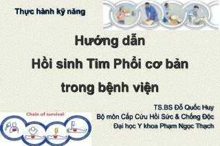 Huo ng d n  H i sinh Tim Ph i co ban  trong b nh vi n