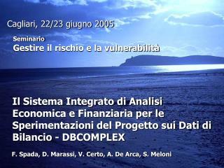 Il Sistema Integrato di Analisi Economica e Finanziaria per le Sperimentazioni del Progetto sui Dati di Bilancio - DBCOM