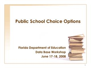 Public School Choice Options
