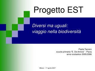 Progetto EST