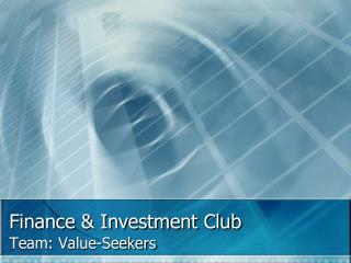 Finance  Investment Club
