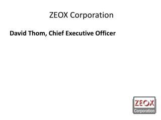 ZEOX Corporation