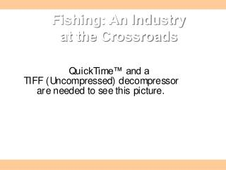 Fishing: An Industry  at the Crossroads