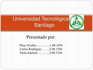 Universidad Tecnol gica de Santiago