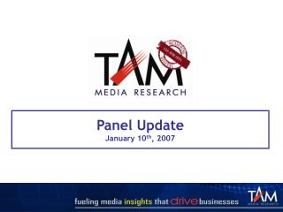 Panel Update January 10th, 2007