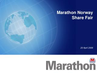 Marathon Norway Share Fair