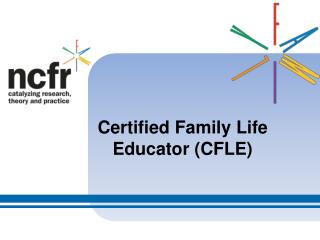 Certified Family Life Educator CFLE