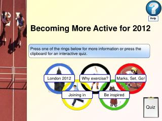 Becoming More Active for 2012