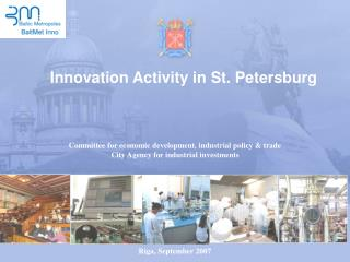 Innovation Activity in St. Petersburg