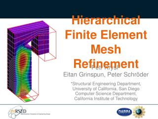 Hierarchical  Finite Element Mesh Refinement