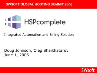 Integrated Automation and Billing Solution
