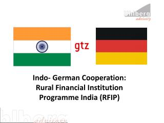 Indo- German Cooperation: Rural Financial Institution Programme India RFIP