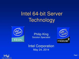 Intel 64-bit Server Technology