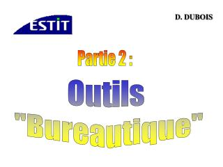 Outils  Bureautique