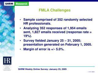 FMLA Challenges