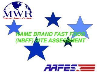 NAME BRAND FAST FOOD NBFF SITE ASSESSMENT