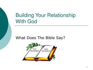 Building Your Relationship With God