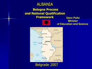 ALBANIA  Bologna Process  and National Qualification Framework