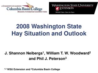 2008 Washington State  Hay Situation and Outlook