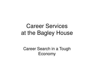 Career Services 2009 Workshop Series