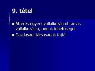9. t tel