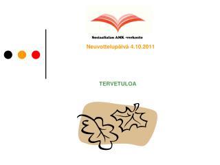 Neuvottelup iv  4.10.2011
