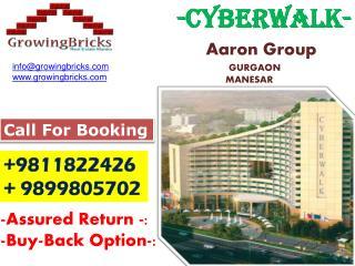 Call Now #9811822426 #9899805702||CyberWalk Manesar Gurgaon