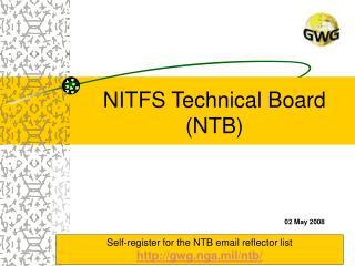 NITFS Technical Board NTB