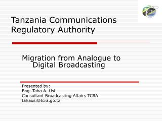 Tanzania Communications Regulatory Authority