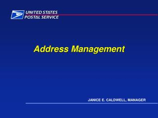 Address Management