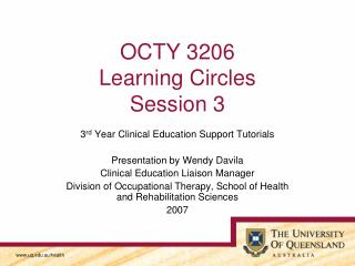 OCTY 3206 Learning Circles Session 3