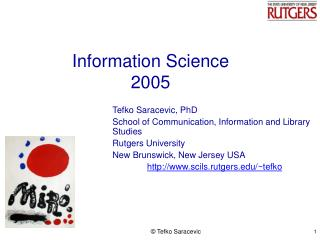 Information Science 2005