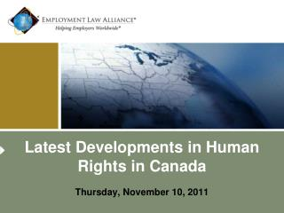 Latest Developments in Human Rights in Canada