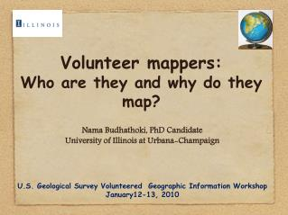 Volunteer mappers:  Who are they and why do they map