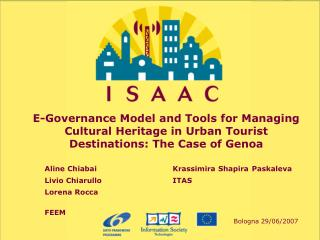 E-Governance Model and Tools for Managing Cultural Heritage in Urban Tourist Destinations: The Case of Genoa